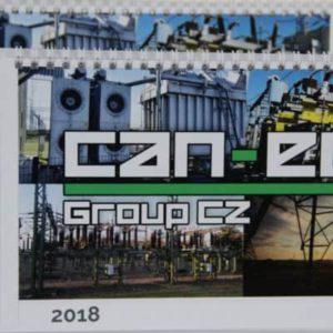 Design kalendáře Can Eco