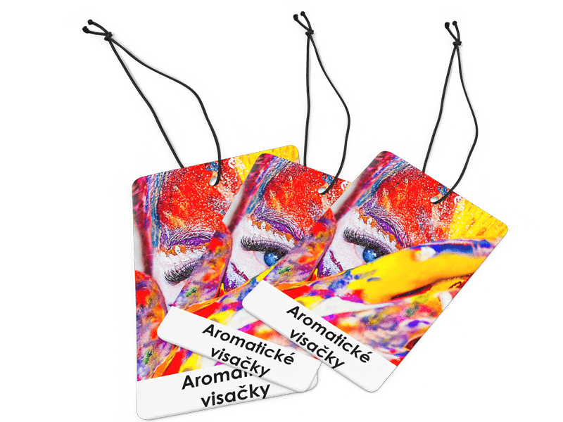 aromatické visačky výroba