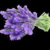 Aromatická visačka s vůní levandule